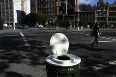 Poopy Trash - Clever Guerilla Marketing
