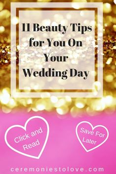 Your wedding day is finally here. The planning is done. Read these tips that brides shared with us and told us they wished they knew on their wedding day. It is all about bridal beauty. Free Wedding, Perfect Wedding, Diy Wedding, Wedding Ideas, Wedding Blog, Wedding Reception, Wedding Decorations, Wedding Simple, Reception Ideas