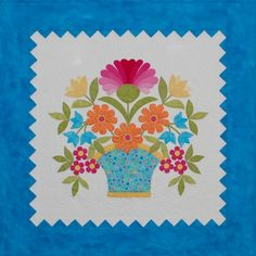Miss Hannah Quilt Pattern by erinrussek on Etsy, $10.00   34x34