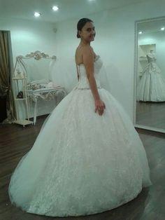 One Shoulder Wedding Dress, Wedding Dresses, Fashion, Bride Gowns, Wedding Gowns, Moda, La Mode, Weding Dresses, Wedding Dress