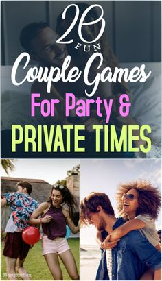 20 Fun Couple Games For Party And Private Times 20 Fun Couple Games For Party And Private Times : Couples need some interesting moments, to keep their relationship lively. Here are couple games for every occasion, be it a party with friends or family. Couple Party Games, Fun Couple Activities, Dinner Party Games, Couples Game Night, Night Couple, Couple Fun, Night Games, Marriage Games, Marriage Tips