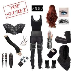 """Ninja-ANBU"" by crystalgriffin-ffn on Polyvore"