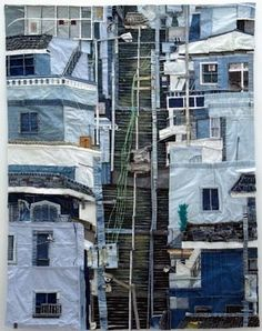 Reminds me of a Pittsburgh batik artist about 30 years ago...    Untitled, c, 2008 So-Young Choi