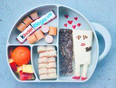 Kinderriegel Bentobox / Bentobox Ideas / Brotdose mal anderst / Brotbox / Kindervesper / Creativ Food / Kids Food / Kindergarten / www.amotherslove.de