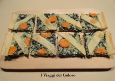 CROSTATA DI VERDURA ...  Una ricetta per Pasqua ma anche una torta salata utilizzabile come Finger Food ? Si può fare ... http://www.iviaggidelgoloso.net/2014/04/ricette-x-pasqua.html