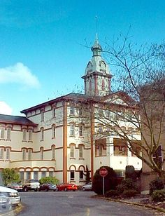 """Salem Oregon Mental Hospital - location for the film """"One Flew Over the Cuckoos Nest"""""""