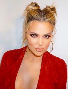 Khloe Kardashian Cute Hairstyle