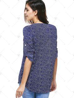 http://www.rosegal.com/blouses/casual-3-4-sleeve-zipper-fly-embellished-women-s-print-blouse-519962.html