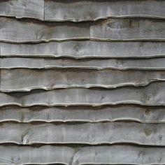 silvered/weathered waney edge