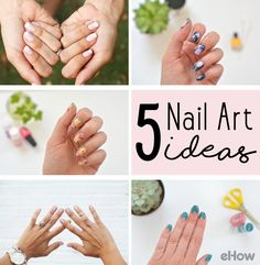 From galaxy nails to floral designs, these nail art ideas are sure to impress everyone! Best part is we show you how to do it yourself! http://www.ehow.com/how_12343399_swap-out-classic-paint-job-5-nail-art-ideas.html?utm_source=pinterest.com&utm_medium=referral&utm_content=curated&utm_campaign=fanpage