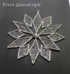 stained glass snowflake patterns | stainedglass