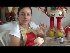 how to make a face manualilolis Christmas Gnome, Christmas Crafts, Christmas Decorations, Doll Tutorial, Doll Maker, Soft Dolls, Soft Sculpture, Fabric Dolls, Diy And Crafts