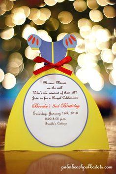 Princess Birthday Snow White Invitation by Palm Beach Polkadots. $2.25, via Etsy.
