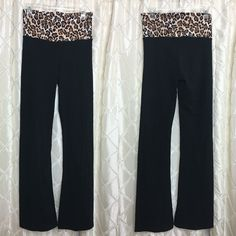 Victoria's Secret Cheetah Print Yoga Pants Great Condition | No Trades Victoria's Secret Pants