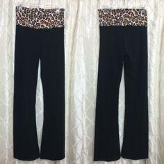 Victoria's Secret Cheetah Print Yoga Pants Great Condition | No Trades Victoria's Secret Pants