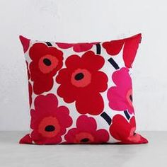 Your Shopping Cart Red And Pink, Red Green, Red And White, Blue And White, Napkin Rose, Pink Couch, Red Peonies, Cushion Inserts, Green Pattern