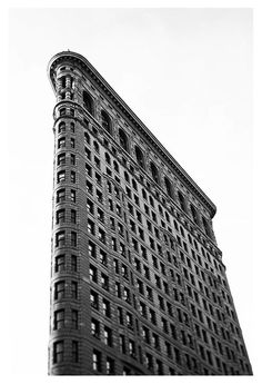 Modern New York City architecture photograph by Alicia Bock. Title: Flatiron Black and White #2All fine art photographs are printed on Kodak Endura Professional photographic paper with a luster finish for a photograph with sharp details, and stunning colors that will last a lifetime. The Luster paper is a traditional photographic paper with subtle texture, and a slight sheen without being glossy. Please note the colors you see on your monitor may differ slightly from the print due to variations Fine Art Photography, Nature Photography, Flatiron Building, Vintage Polaroid, Building Art, New York Art, City Architecture, Subtle Textures, Flat Iron