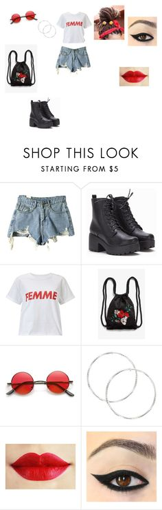 """""""Casual Outfit"""" by elenatsr on Polyvore featuring Miss Selfridge, Monki, Chupa Chups, summerstyle and polyvorefashion"""