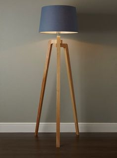 mahogany tripod floor lamp - Google Search