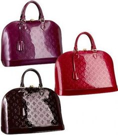 Louis Vuitton -Vernis Alma...would love to have one of each color