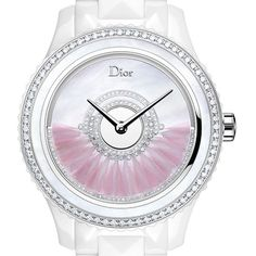1920s-Inspired Feather Watches From Harry Winston and Dior ❤ liked on Polyvore Best Ladies Watches, Watches For Men, Christian Dior Watches, World Watch, Stylish Watches, Harry Winston, Pink Jewelry, Grand Prix, Rolex Watches