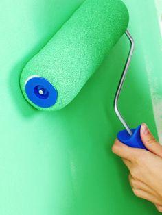 Wände streichen: 8 Tipps zum Selbermachen!