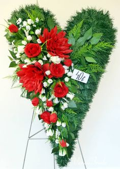 Funeral Flowers, Daisy, Floral Wreath, Christmas Decorations, Valentines, Wreaths, Paper Flowers, Grief, Valentine's Day Diy