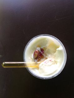 Gelato ai 4 Presidi Slow Food - caciocavallo razza bovina Cinisara, Pistacchio di Bronte, Mandarino Tardivo di Ciaculli, Miele di Ape Nera Sicula