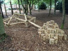 Random Climb Fountains Abbey And Studley Foyal Extensive Rustic Outdoor Woodland Play Area By Flights Of Fantasy Natural Outdoor Playground, Backyard Playground, Backyard For Kids, Playground Ideas, Backyard Play Areas, Rustic Outdoor, Outdoor Fun, Outdoor School, Outdoor Play Spaces