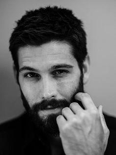 Hairy Men, Bearded Men, Casey Deidrick, Beard Grooming, Fantasy Male, Actrices Hollywood, Photography Poses For Men, Monochrom, Beard Care