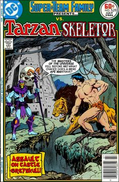 Super-Team Family: The Lost Issues!: Tarzan Vs. Skeletor