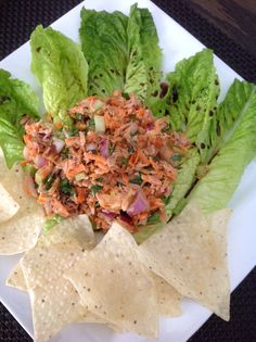 Tuna salad homemade by creativewayz Tuna Salad, Tacos, Mexican, Foods, Homemade, Eat, Ethnic Recipes, Snacks, Tuna Fish Salad