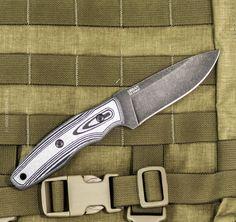 Nôž URBAN D2 Stonewash, Kizlyar Supreme