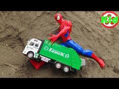 Örümcek adam yardım arabası Tayo Küçük Otobüs - Çocuk Oyuncakları F315B Çocuk Stüdyosu - YouTube
