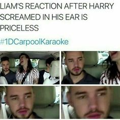 Liams face is priceless