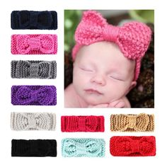 c904b0f12a6 New Knit Headband Crochet Top Knot Elastic Turban Hairband Baby Girl Head  Wrap Ears Warmer Headwear Girls Headbands. Yesterday s price  US  1.99  (1.78 EUR).