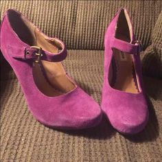 Steve Madden Pink Purple Mary Jane Heels - Mercari: Anyone can buy & sell