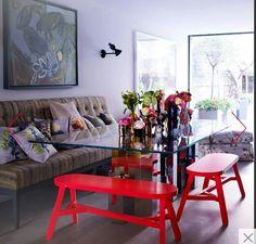Nikki Tibbles florist's dining room - Living etc house Tour 2015