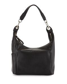 Le Foulonne Small Hobo Bag, Black, Women's - Longchamp