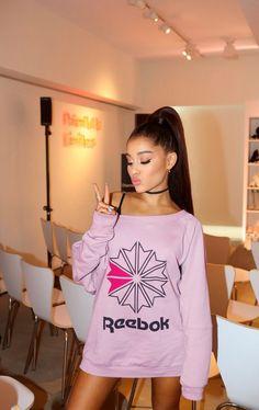 Ariana Grande at the ArianaxReebok launch in Hong Kong