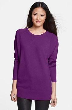 Halogen® Raglan Seam Dolman Sleeve Sweater | Nordstrom