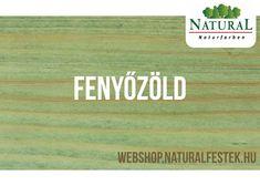 Természetes alapanyagokból álló Natural Fa-lazúrfesték fenyőzöld színben. Nature, Natural Colors, The Great Outdoors, Mother Nature, Scenery, Natural