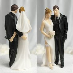 Tender Touch Funny Wedding Cake Toppers Wedding Toppers Caketop | eBay