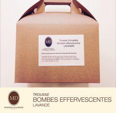 Trousse de fabrication : Bombes Effervescentes à la Lavande de la boutique SavonnerieMNDA sur Etsy