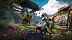 PlayStation - Far Cry New Dawn Brings Players into a Vibrant Post-Apocalyptic Frontier: Far Cry New Dawn – the standalone… - View Far Cry 6, Upcoming Pc Games, Playstation, Best Pc Games, Small Town America, First Person Shooter, Xbox One Games, Am Meer, News Games