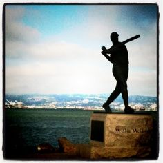 McCovey Cove at AT&T; park in San Francisco...