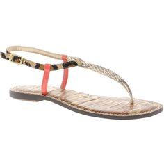 Sam Edelman Gigi Flat Sandals found on Polyvore