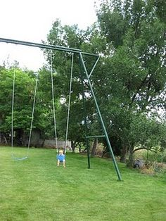 Swingset for kids AND adults