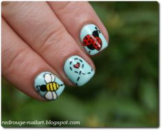 Love story of Ladybug and Mr. Bee