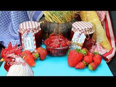 🍓Μαρμελάδα 🍓Φράουλα🍓 από τον παππού Τάσο🍓🍓🍓 - YouTube Strawberry Jam, Greek Recipes, Dairy, Cheese, Fruit, Cooking, Food, Youtube, Kitchen